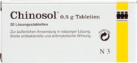 CHINOSOL 0,5 g Tabletten